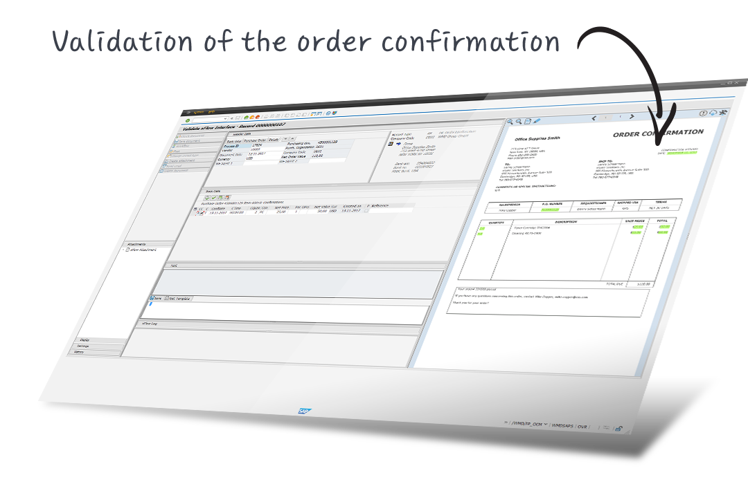 order confirmation in SAP