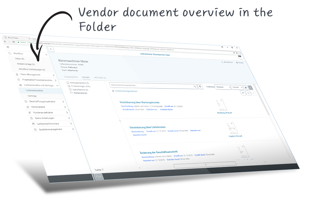 xFlow Vendor File for SAP  All data, documents, transactions