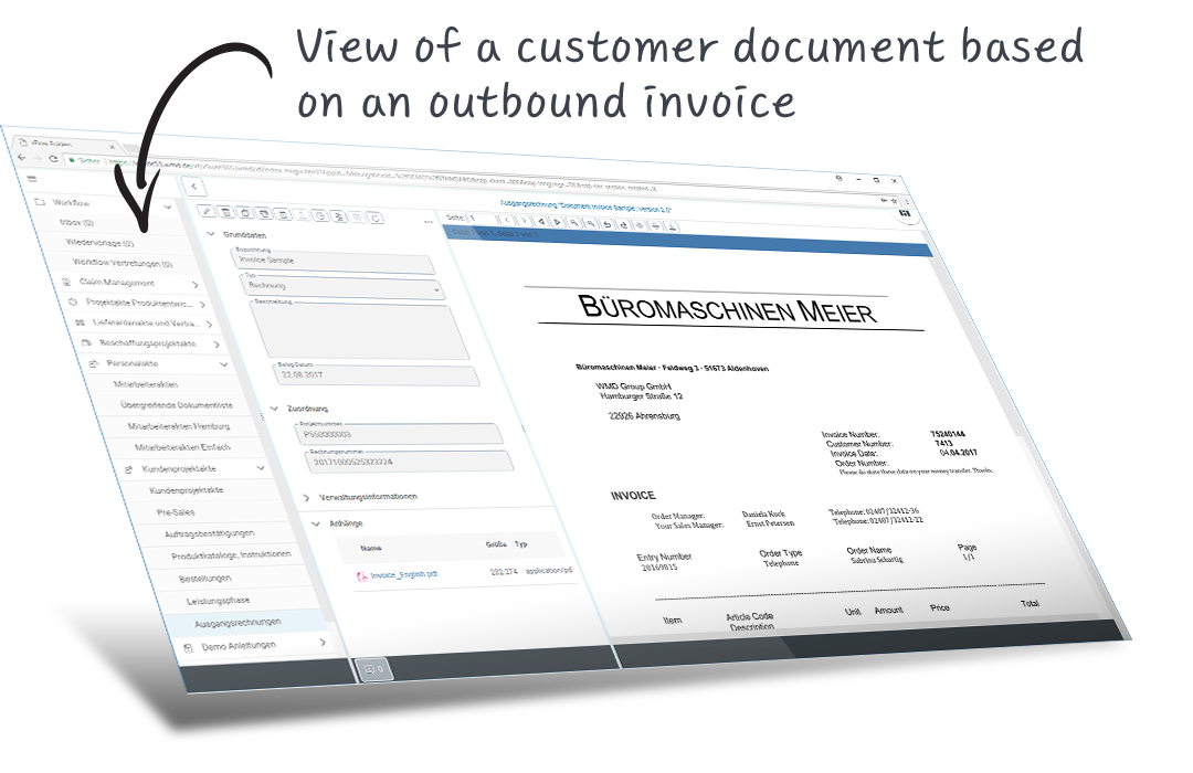 xFlow Customer File for SAP  All customers' business data at a glance