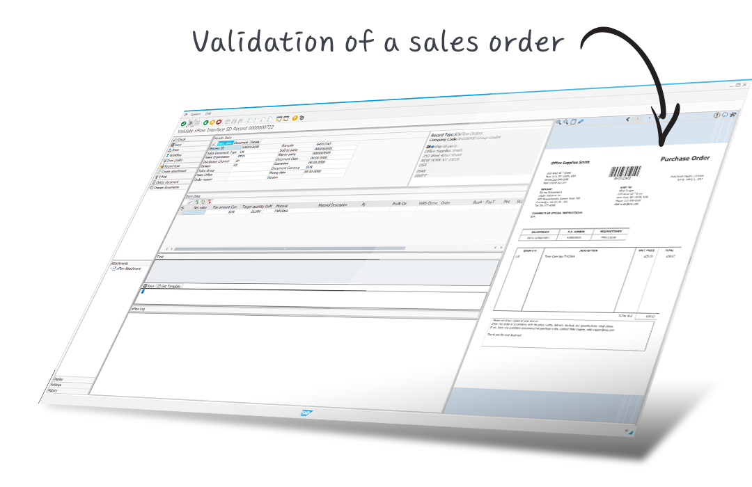 validation sales order