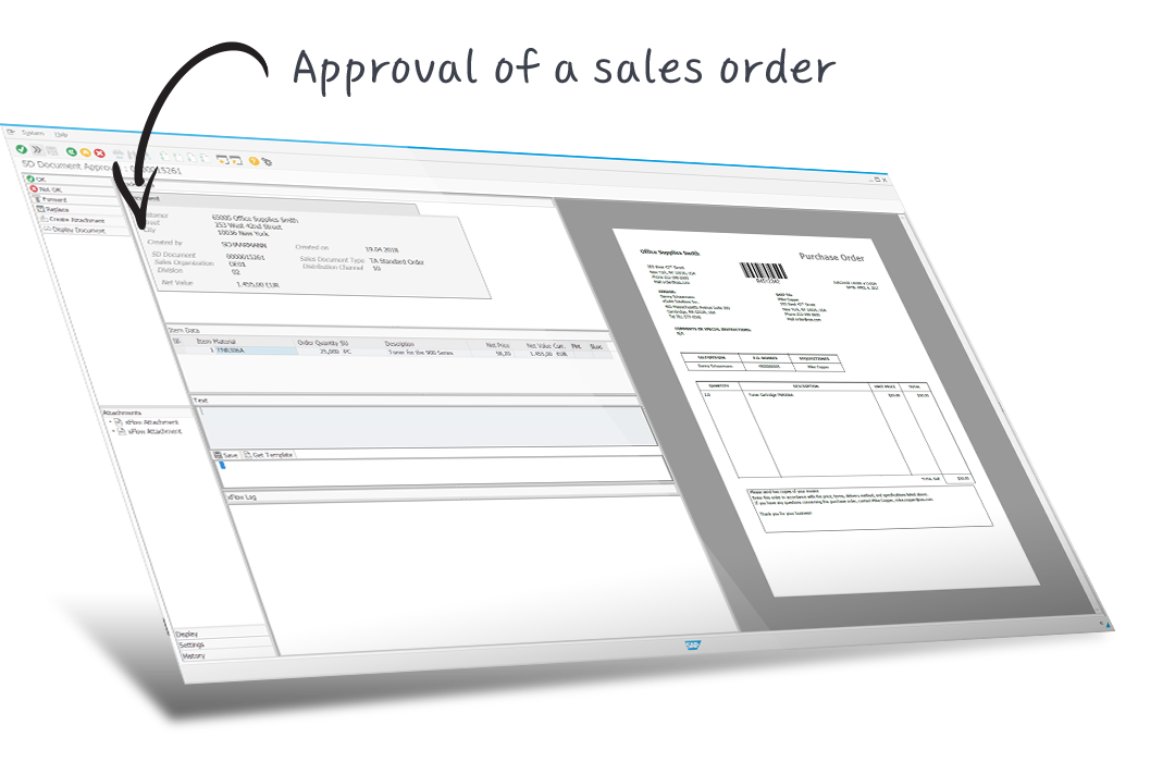 approval sales order